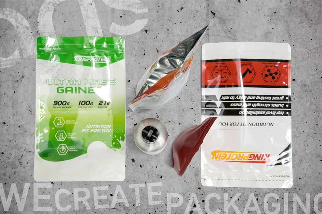 Sport nutrition packaging 2