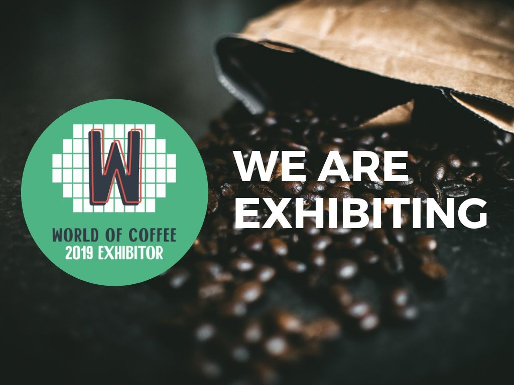 We are exibitors at the coffee festival World of Coffee Berlin 2019!