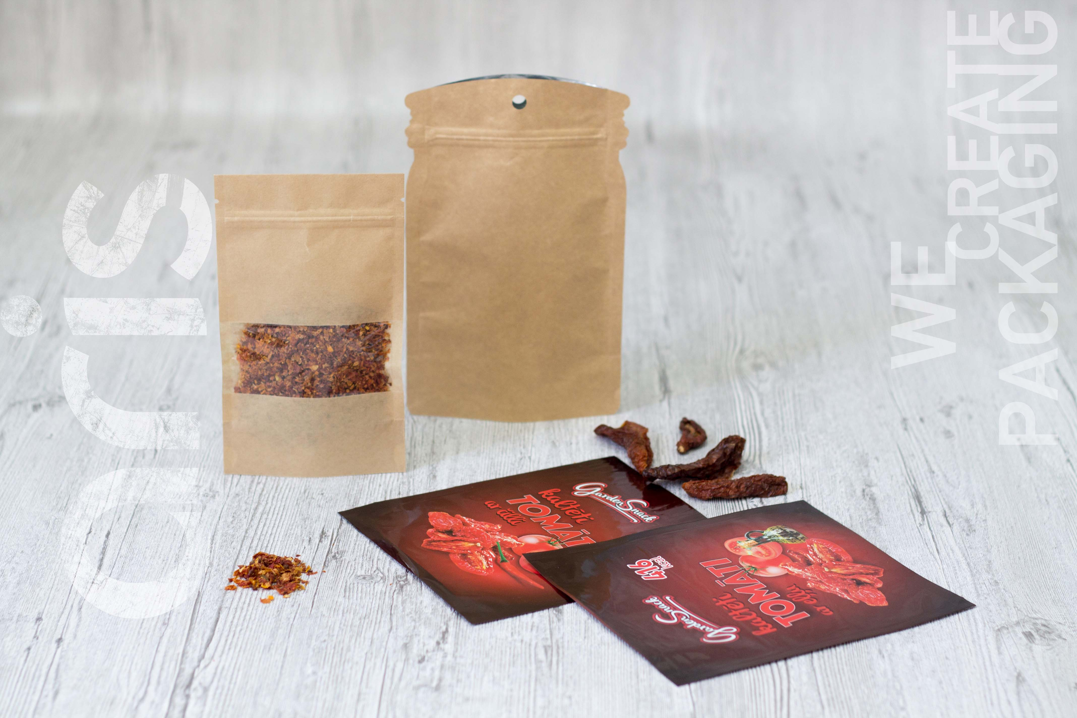 doy-pack package for spices